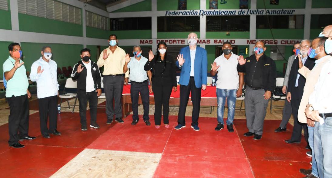 Federación Dominicana de Lucha realiza asamblea eleccionaria