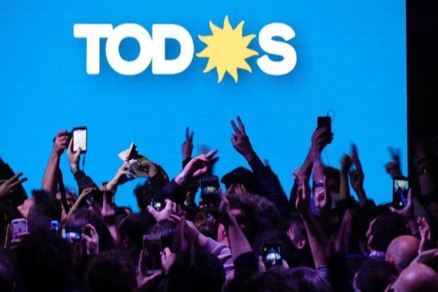 El candidato a presidente de Argentina Alberto Fernández, es el más votado en las primarias de este domingo.