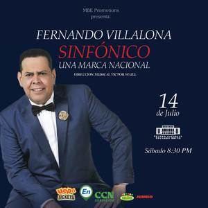 Fernando Villalona Sinfónico.