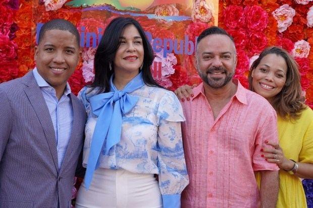 Alexis Pérez, Janet Blandino, Ron Lizardo y Luz García.
