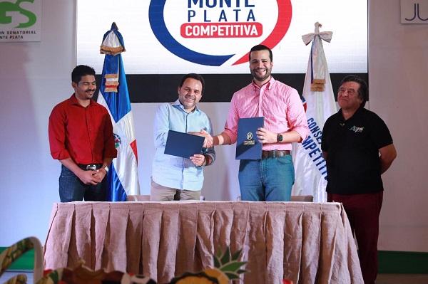 Competitividad apoya iniciativas para el desarrollo de Monte Plata