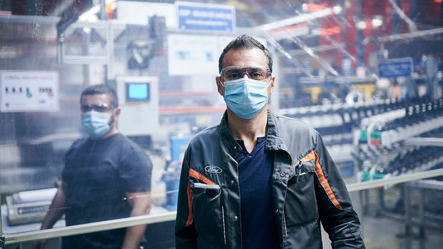 Ford reiniciará la producción en Europa con protocolos de protección reforzada en sus instalaciones