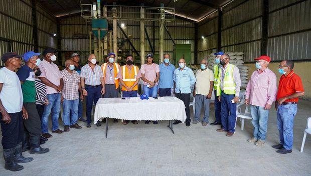 INDRHI inaugura obras de riego en línea fronteriza