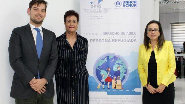 INM RD y ACNUR inician diplomado sobre Derecho de Asilo y Estatuto de Persona Refugiada