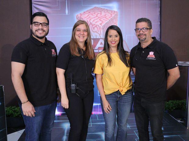 César Pagan, Laura Matos, Mariela Lamarche y Pedro Lajara.