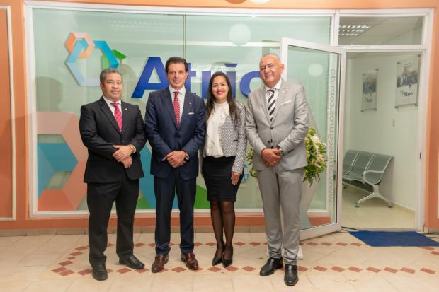 Juan José Guerrero, Rafael Cedeño Camacho, Jennifer Ramírez y Reny Díaz.