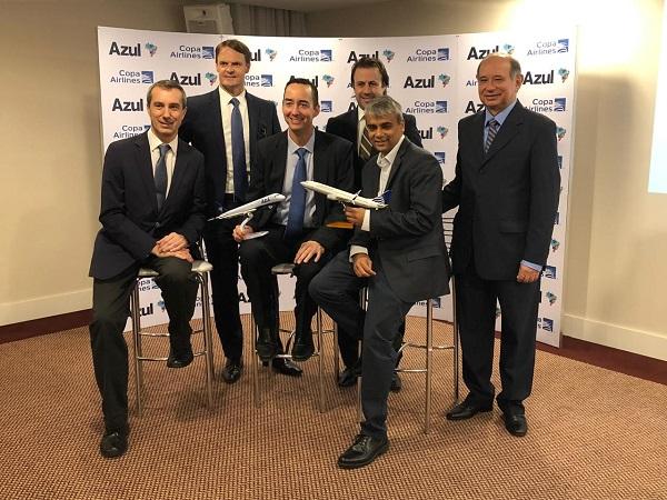 Copa Airlines y Azul anuncian acuerdo de código compartido y fortalecen alianza