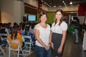 María Paula Miquel y Shirley Pérez.