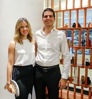 Marina Silverio y Duccio Podest.