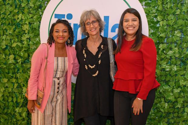 Miosotis Batista, Ginny Heinsen y Laura Ruiz.