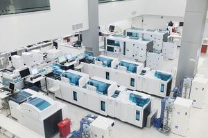 Equipos de alta tecnología de Referencia Laboratorio Clínico.