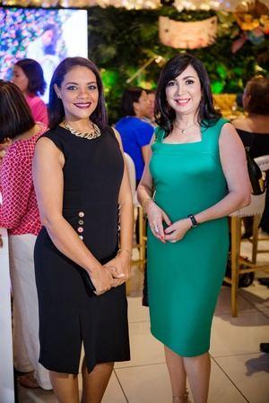 Wendy Lizardo y Margarita Ceballos.