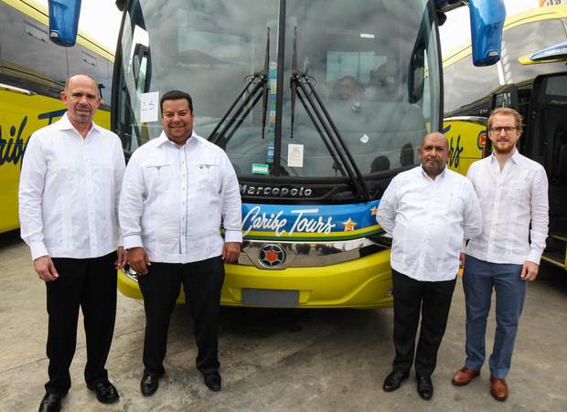 Caribe Tours introduce 42 modernos autobuses al sistema de transporte interurbano