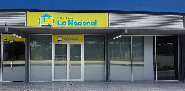 Fachada Sucursal La Nacional Occidental Mall.