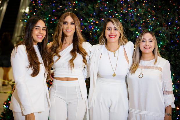 Yasmín Yeara,Haydi Cruz, Claudia Hernández y Daniela Torres.