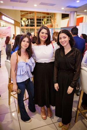Christina Rosado, Jessica Muñoz y Fior Lora
