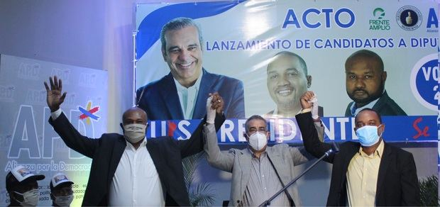 """Candidatos APD proponen """"más inversión para San Pedro y La Romana"""""""