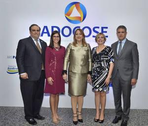 Ramón Omar Alma, Nicole Toribio, Eloisa Muñoz, Zaidé Alba Cavagliano y Ricardo Rizek