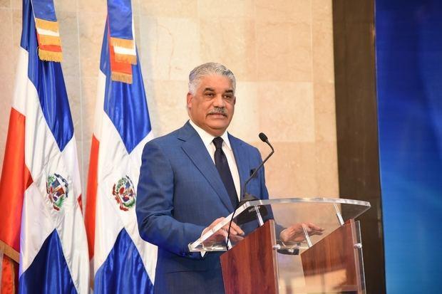 Canciller Miguel Vargas.-