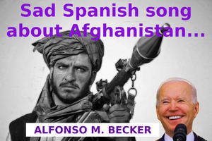 Sad Spanish song about Afghanistan...