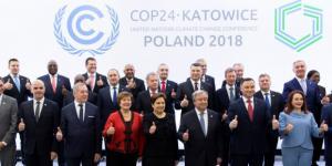 Foto de familia en la COP24 de Katowice (Polonia)