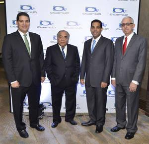 Ramón Alberto Bello, Ramón Bello, Nelson Bello y Joaquín J. Noboa.