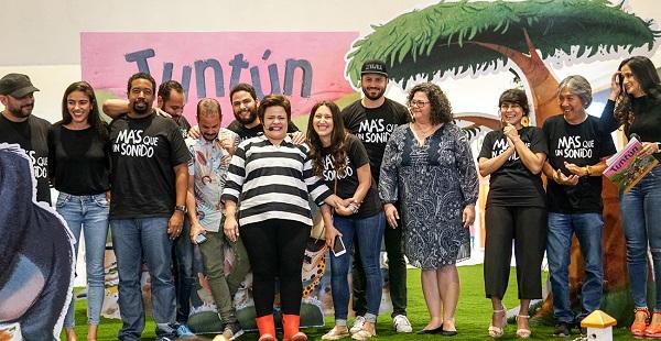 Tuntún, el nuevo proyecto de Anya Damirón es auspiciado por Milex Kinder Gold