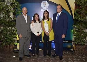 Gustavo Batista, Grace Cochón, Odile Camilo y Julio Amado Castaños Guzmán