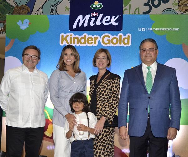Presentan nueva campaña Fuerzas para Crecer de Milex Kinder Gold