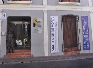 Fachada Museo Memorial de la Resistencia.