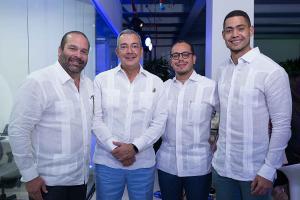 Francisco Izquierdo, Anthony Jimian, Manuel Peralta y Felix Santana
