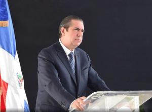 El director estratégico del comité de campaña peledeísta, Francisco Javier García.