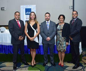 Fremio Lopez, Clary Dalia Sanquintin,RamónBáez Claudia Sánchez y Raúl J.Marquez.