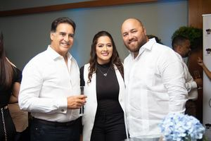 Rudy Abreu, Heidy Pineda y Manuel Ovalles.