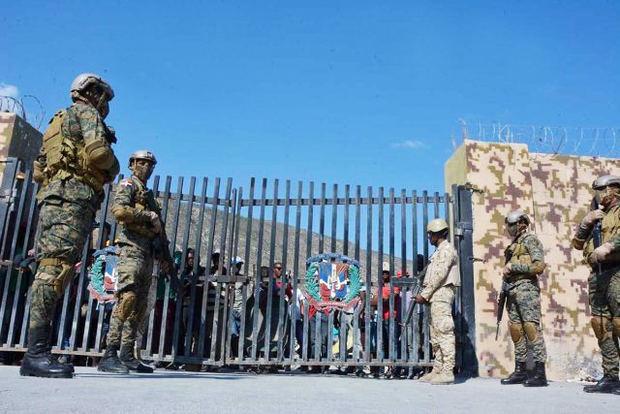 Frontera de Haití.