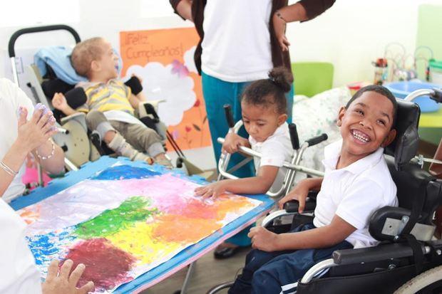 Ver sonreir a estos niños y niñas representa una satisfacción para la Fundación Nido para Ángeles.