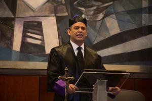 El presidente de la Suprema Corte de Justicia, magistrado Luis Henry Molina Peña.