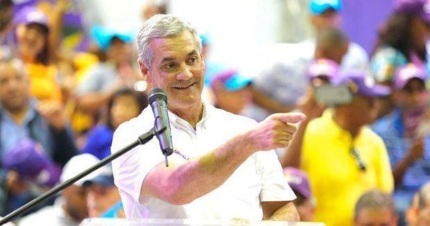 Candidato a la Presidencia Gonzalo Castillo concluye sus recorridos por el país en apoyo a candidatos del PLD.