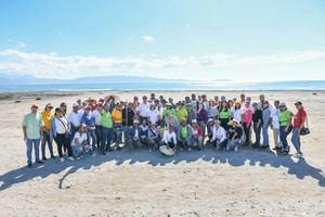 GRS del INFOTEP realiza jornada de limpieza de playa en Azua.
