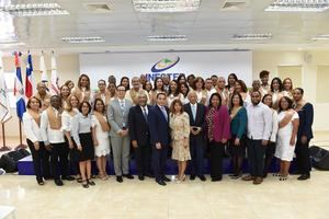 Grupo de graduandos Infotep.