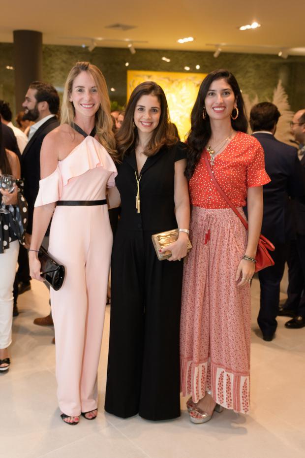 Gabriela Oller, Nicole Garrido y Rachelle Villanueva.