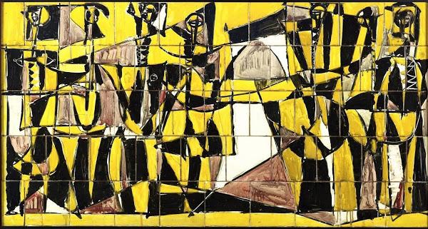 Clausuran exposición de Paul Giudicelli con propuesta de experto para restaurar murales del artista