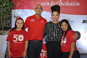Claudia Moquete Vargas, José Miguel Abreu, Diomaris La Mala y Ana Pavel Santana.