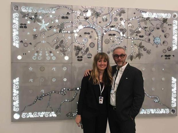 Directora Artística de Frieze New York 2019, Loring Randolph y Lyle O. Reitzel.