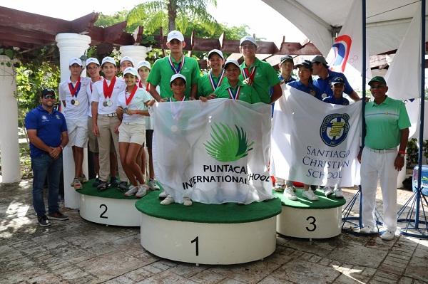 Puntacana International School lidera torneo nacional de golf