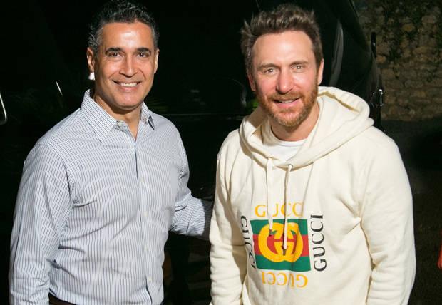 David Guetta cierra el año por todo lo alto en Chavón