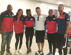 Delegación de gimnasia que representará al país en los Juegos Panamericanos de Lima, Perú.