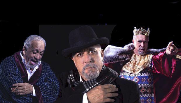 Las tres caras de Giovanny Cruz.