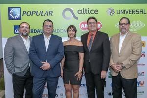 Claudio Hirujo, Rafael Fernández, Patricia Fernández, José Luis Rabelo y Alejandro Jovine.