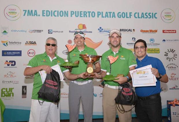 Rodríguez y Medina ganan la séptima Copa Sonríe del Puerto Plata Golf Classic